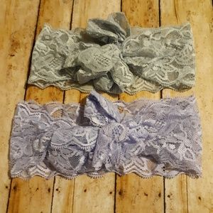 Other - Girls lace headbands